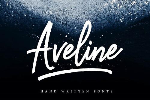 Aveline Script Free