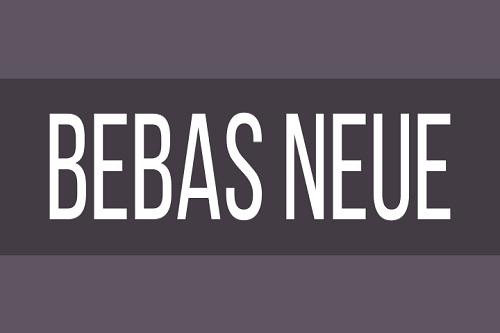 Bebas Neue