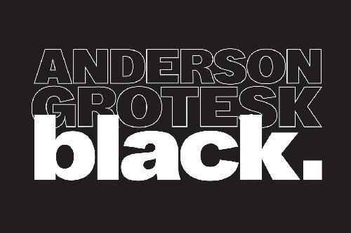 Anderson Grotesk Black