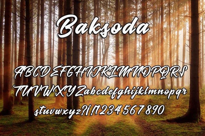Baksoda
