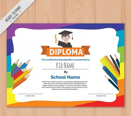 diploma arcoiris