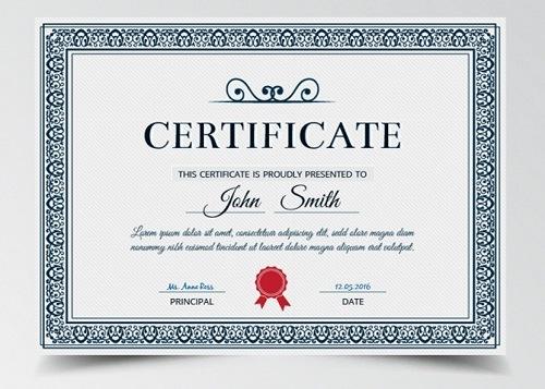 Diploma bordes redondeados