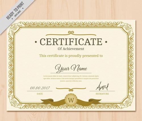 diploma dorado