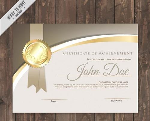 diploma oro