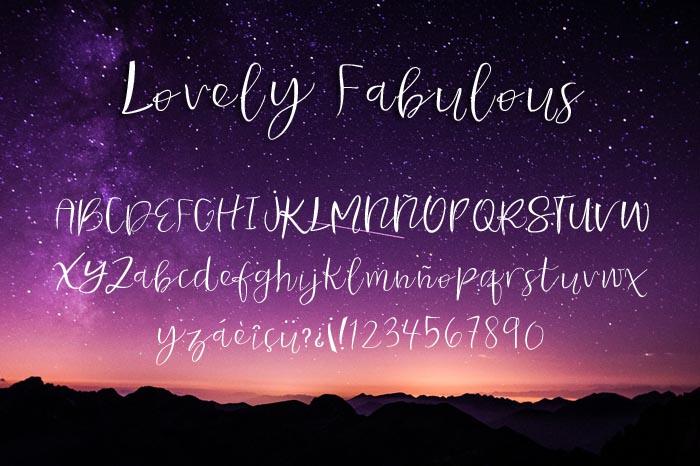Lovely Fabulous