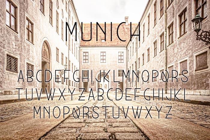 Munich Typeface