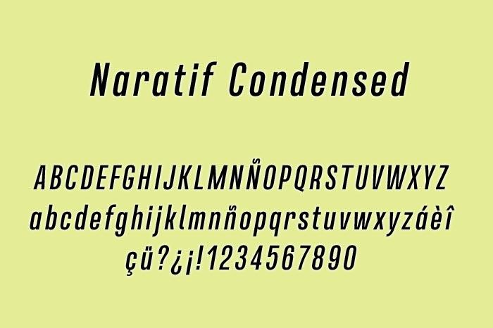 Naratif Condensed