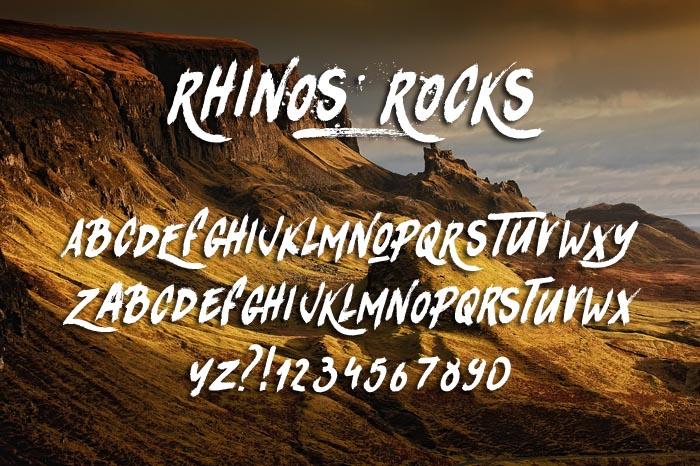Rhinos Rocks