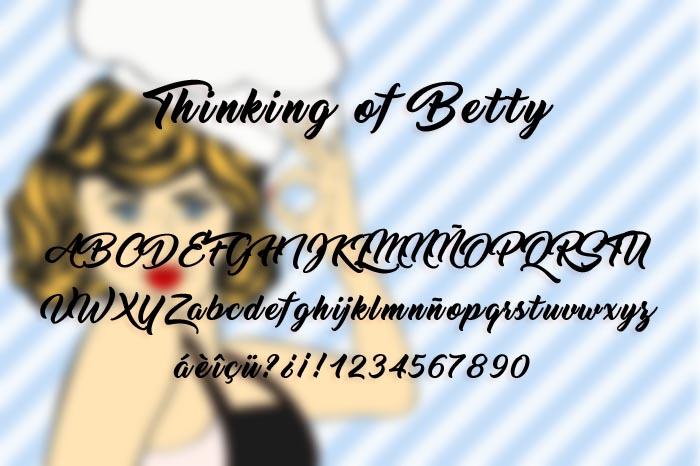 Thinking Of Betty