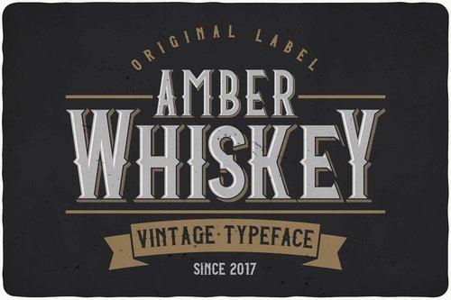 Amber Whiskey