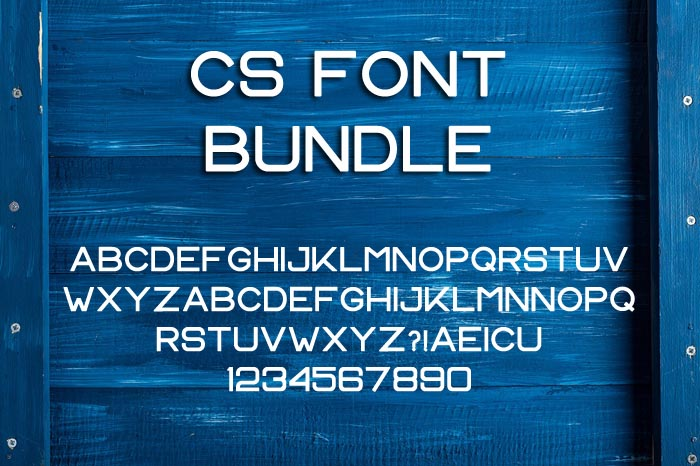 CS Font Bundle