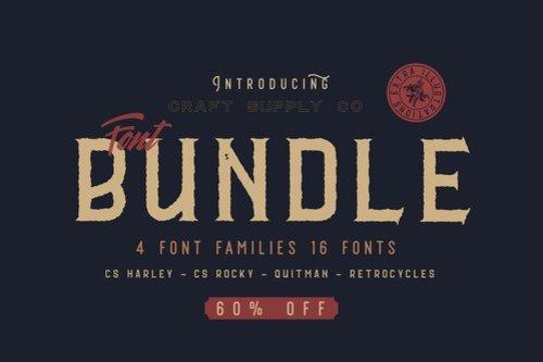 CS Font Bundle