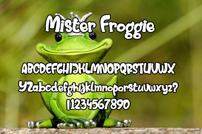 Mister Froggie