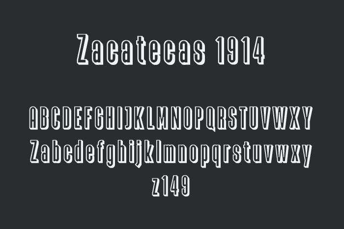 Zacatecas 1914