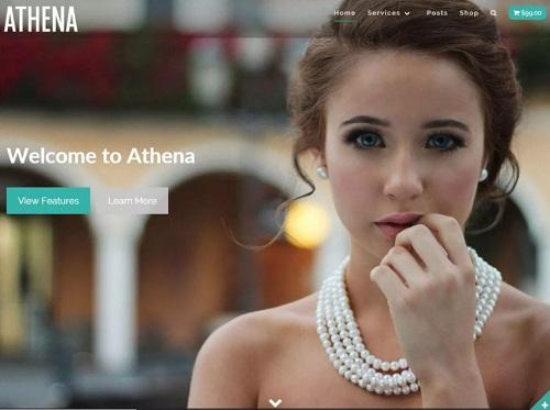 athena theme