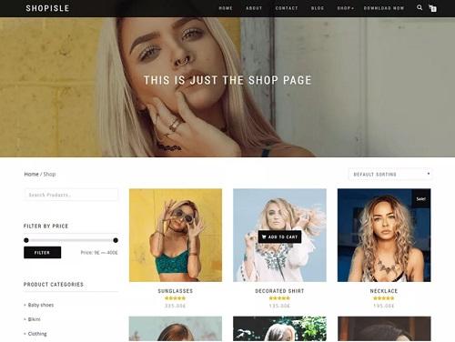 shop isle theme