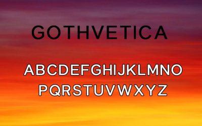 Gothvetica